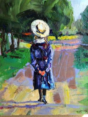 Girl in Bonnet