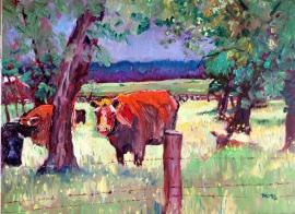 Pastoral, oil, 24 x 18