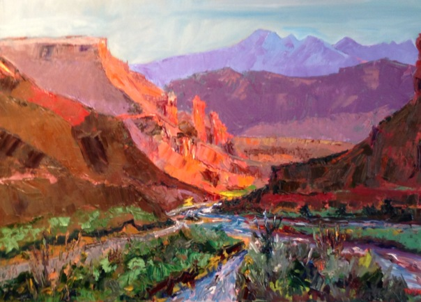 Near Moab